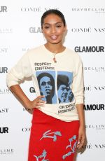 YARA SHAHIDI at Glamour's The Girl Project Celebrating International Day of the Girl in New York 10/11/2017