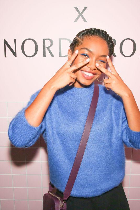 YARA SHAHIDI at Pop & Suki x Nordstrom Dinner in Los Angeles 10/12/2017
