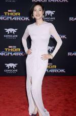 YUKI AMAMI at Thor: Ragnarok Premiere in Los Angeles 10/10/2017
