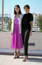 YULIYA SNIGIR and ANNA CHIPOVSKAYA at The Road to Calvary Photocall at Mipcom in Cannes 10/16/2017