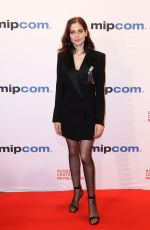 YULIA SNIGIR at Mipcom Opening Cocktail in Cannes 10/16/2017