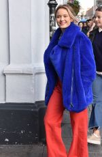 ZARA LARSSON Arrives at Olympia Theatre in Dublin 10/17/2017