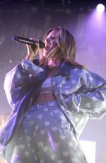 ZARA LARSSON Performs at O2 Academy in Glasgow 10/18/2017
