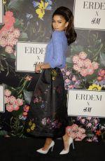 ZENDAYA COLEMAN at H&M x Erdem Runway Show & Party in Los Angeles 10/18/2017