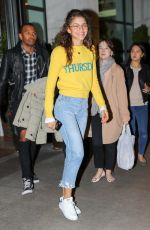 ZENDAYA COLEMAN Out and About in New York 10/27/2017