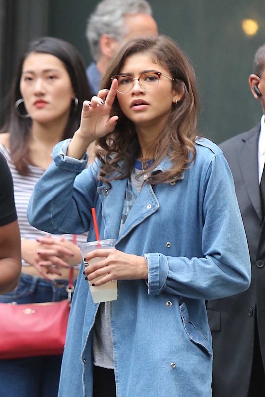 ZENDAYA COLEMAN Out Shopping in New York 10/05/2017