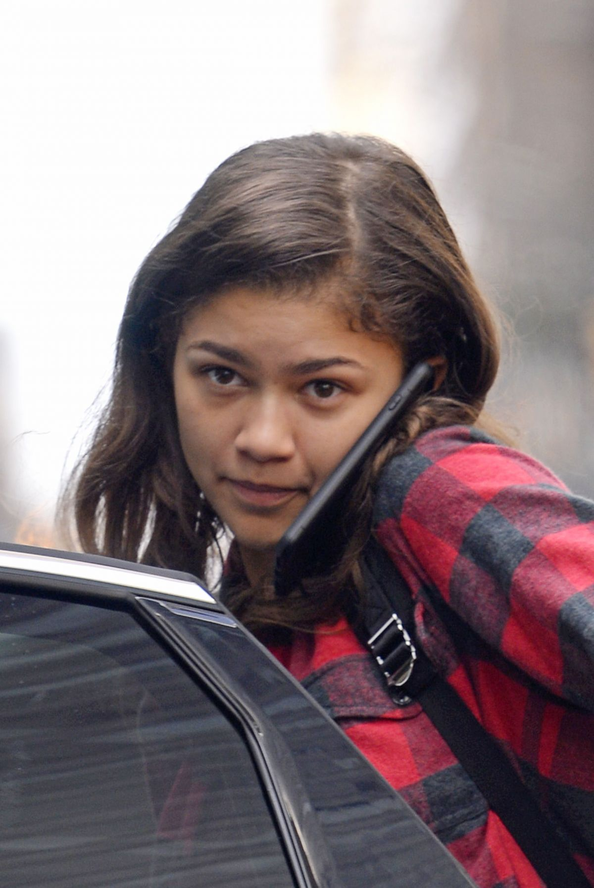 ZENDAYA COLEMAN Without Make,up Leaves Her Hotel in New York