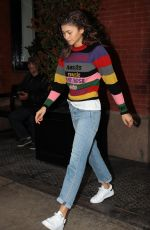 ZENDAYA Leaves Her Hotel in New York 10/26/2017
