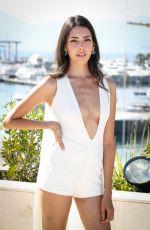 ZION MORENO at Slay Photocall at Mipcom in Cannes 10/16/2017