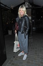 ZOE BALL at Chiltern Firehouse in London 10/30/2017