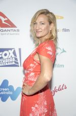 ZOE BELL at 6th Annual Australians in Film Award and Benefit Dinner in Los Angeles 10/18/2017