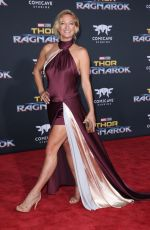 ZOE BELL at Thor: Ragnarok Premiere in Los Angeles 10/10/2017