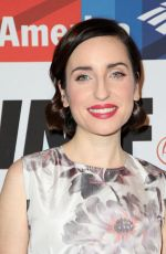 ZOE LISTER-JONES at 2017 Courage in Journalism Awards in Hollywood 10/25/2017