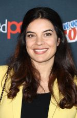 ZULEIKHA ROBINSON at The Exorcist Panel at New York Comic-con 10/08/2017