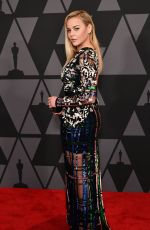 ABBIE CORNISH at AMPAS 9th Annual Governors Awards in Hollywood 11/11/2017