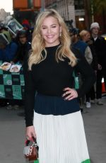 ABBIE CORNISH at Build Series in New York 11/08/2017