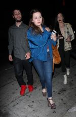 ABIGAIL BRESLIN at Catch LA in West Hollywood 11/03/2017
