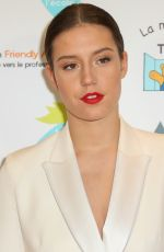 ADELE EXARCHOPOULOS at Autism Charity Gala 2017 in Paris 11/27/2017