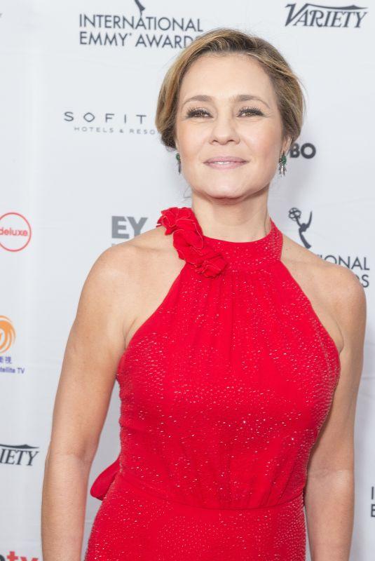 ADRIANA ESTEVES at 2017 International Emmy Awards in New York 11/20/2017