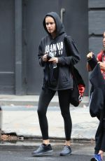 ADRIANA LIMA Leaves a Gym in New York 11/07/2017