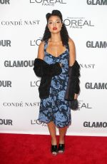 AISHA DEE at Glamour Women of the Year Summit in New York 11/13/2017