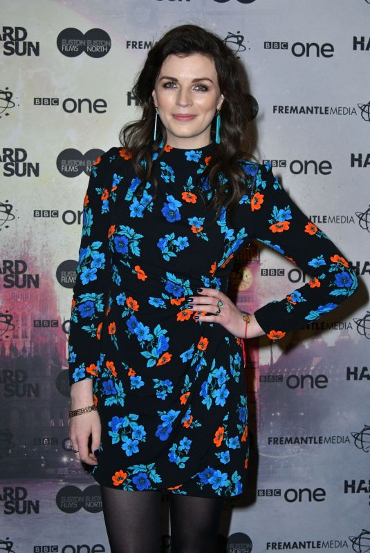 AISLING BEA at Hard Sun Series Premiere in London 11/27/2017