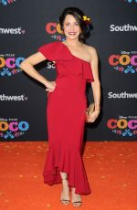 ALANNA UBACH at Coco Premiere in Los Angeles 11/08/2017