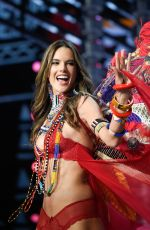 ALESSANDRA AMBROSIO at 2017 Victoria's Secret Fashion Show in Shanghai 11/20/2017
