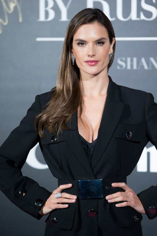 ALESSANDRA AMBROSIO at Mercedes-Benz Backstage Secrets by Russell James Book Launch and Shanghai Exhibition Opening Party 11/18/2017