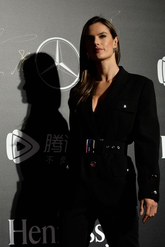 ALESSANDRA AMBROSIO at Mercedes-Benz Backstage Secrets in Shanghai 11/18/2017