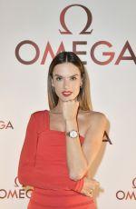 ALESSANDRA AMBROSIO at Omega Aqua Terra Collection Celebration in Miami 11/07/2017
