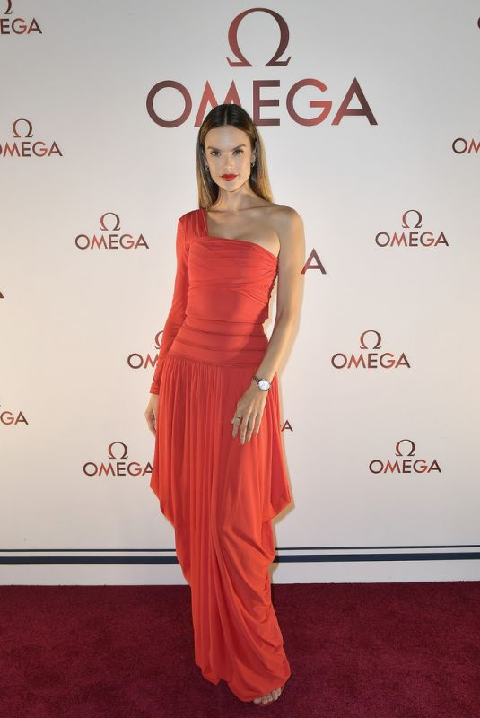 ALESSANDRA AMBROSIO at Omega Aqua Terra Collection Celebration in Miami 11/07/2017