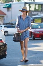ALESSANDRA AMBROSIO Out and About in Brentwood 11/22/2017