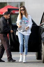 ALESSANDRA AMBROSIO Out and About in Los Angeles 11/10/2017