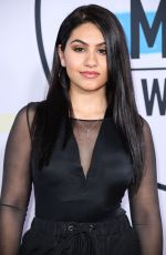 ALESSIA CARA at American Music Awards 2017 at Microsoft Theater in Los Angeles 11/19/2017