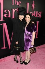 ALEX BORSTEIN at The Marvelous Mrs. Maisel TV SERIES Premiere in New York 11/13/2017