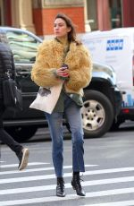 ALEXA CHUNG Out in New York 11/27/2017