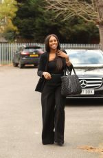 ALEXANDRA BURKE Arrives at a Studio in London 11/22/2017