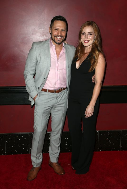 ALEXANDRA DANIELS at Rock Paper Dead Screening in Los Angeles 10/31/2017