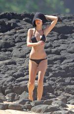 ALEXIS REN in Bikini at a Beach in Hawaii 11/10/2017