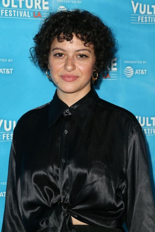 ALIA SHAWKAT at Vulture Festival's Search Party Scavenger Hunt in Hollywood 11/18/2017