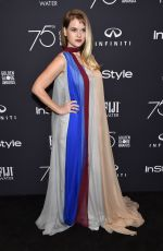 ALICE EVE at HFPA & Instyle Celebrate 75th Anniversary of the Golden Globes in Los Angeles 11/15/2017