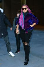 ALICIA KEYS Out and About in New York 11/10/2017