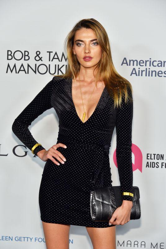 ALINA BAIKOVA at Elton John Aids Foundation 25 Year Celebration in New York 11/07/2017