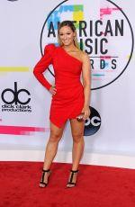 ALISHA MARIE at American Music Awards 2017 at Microsoft Theater in Los Angeles 11/19/2017