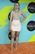 ALISHA MARIE at Nickelodeon Halo Awards in New York 11/04/2017