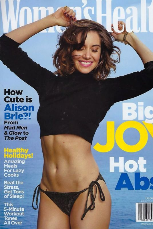 ALISON BRIE on the Cover of Women