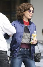 ALISON BRIE Out and About in Los Angeles 11/03/2017