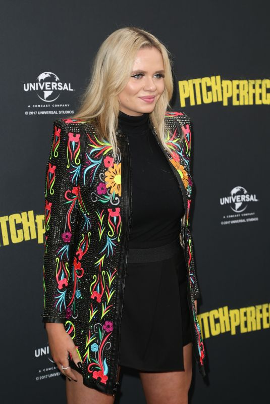 ALLI SIMPSON at Pitch Perfect 3 Premiere in Sydney 11/29/2017