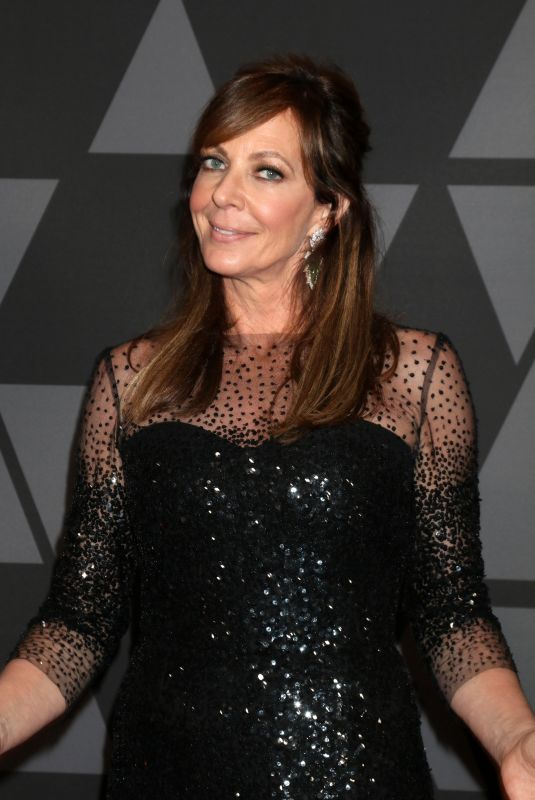 ALLISON JANNEY at AMPAS 9th Annual Governors Awards in Hollywood 11/11/2017